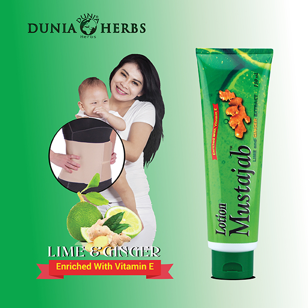 MUSTAJAB Lime & Ginger Extract Lotion